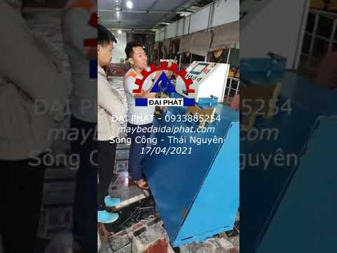 Bàn giao máy bẻ đai Thành phố Sông Công - Thái Nguyên 17/04/2021