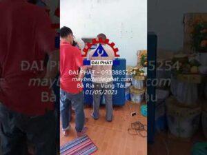 Bàn giao máy bẻ đai ở Bà Rịa Vũng Tàu ngày lễ 01/05