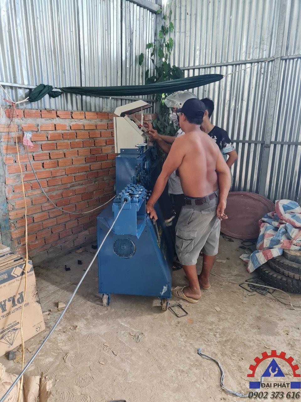 Hình ảnh giao máy ở Trần Văn Thời - Cà Mau 26/09/2021