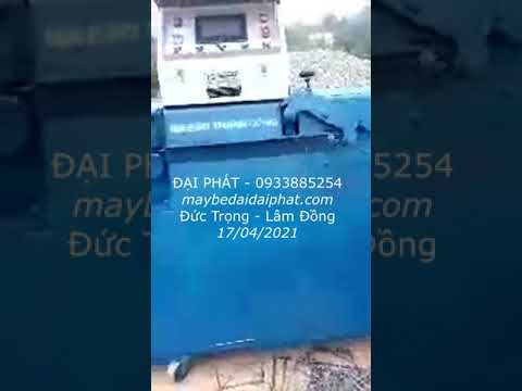 Bàn giao máy bẻ đai sắt ở Đức Trọng - Lâm Đồng 17/04/2021