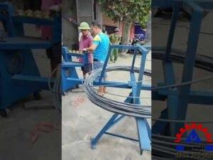 Giao máy bẻ đai tốc độ nhanh ở Kiến Xương - Thái Bình 13/04/2021