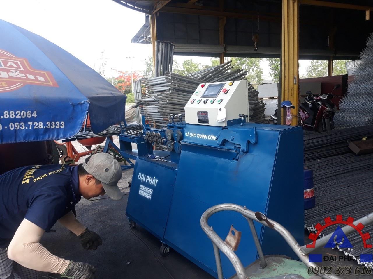 Khách hàng ở Phan Thiết - Bình Thuận ủng hộ lần 2 máy bẻ đai