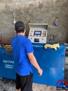 Đại Phát giao máy bẻ đai thứ 3 cho quý khách ở Gia Viễn Ninh Bình